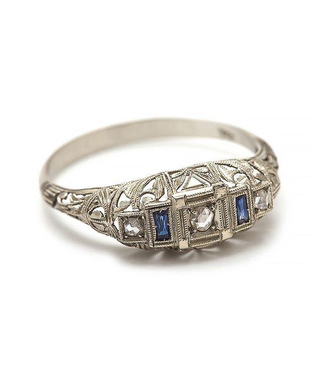 Sophia Kaman Deco Filigree Ring