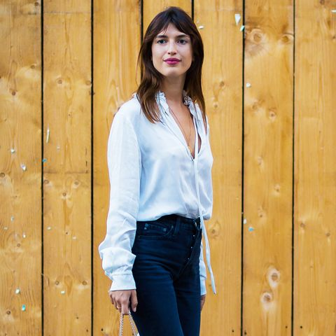 spring street style outfit ideas: Jeanne Damas