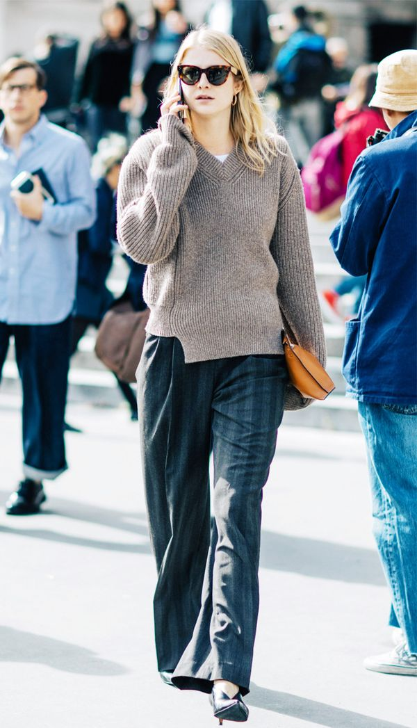 spring street style outfit ideas: Prism sunglasses