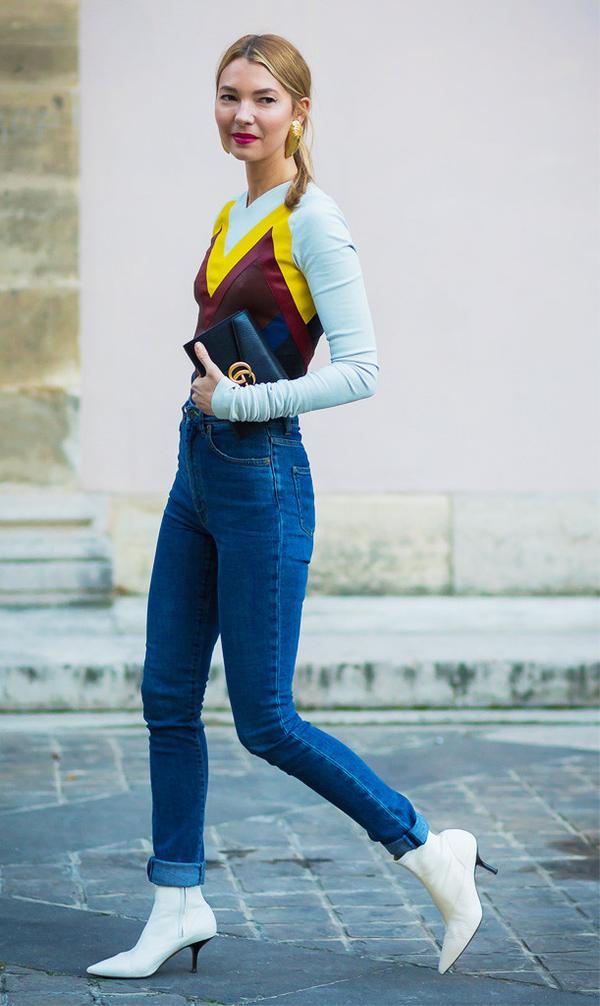 spring street style outfit ideas: Roberta Benteler