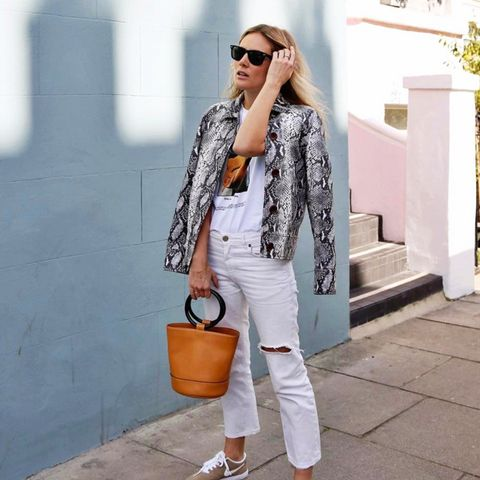 spring street style outfit ideas: Lucy Williams