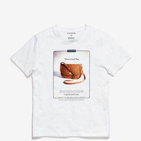 T-Shirt With Archive Print