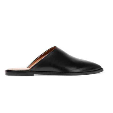 Anzi Leather Slippers