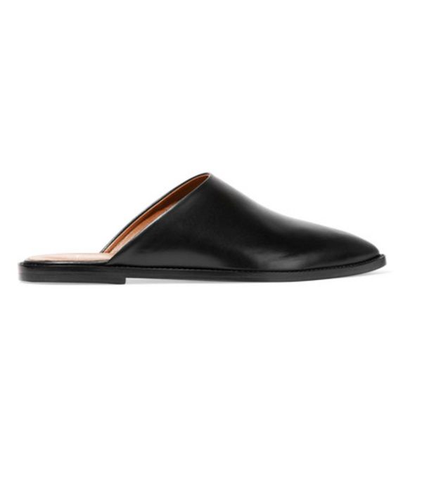 spring street style outfit ideas: ATP Loafers