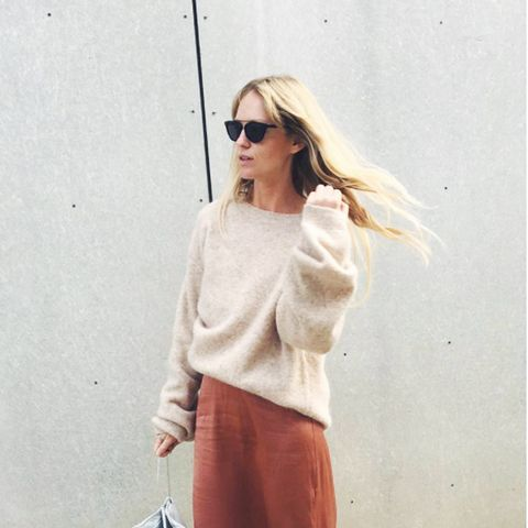 spring street style outfit ideas:  Jeanette Madsen