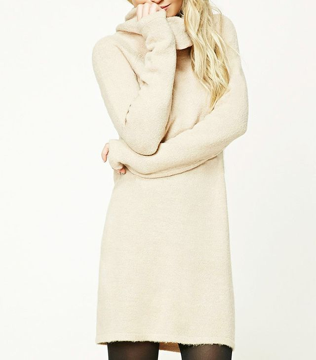 Forever 21 Contemporary Cowl Neck Dress