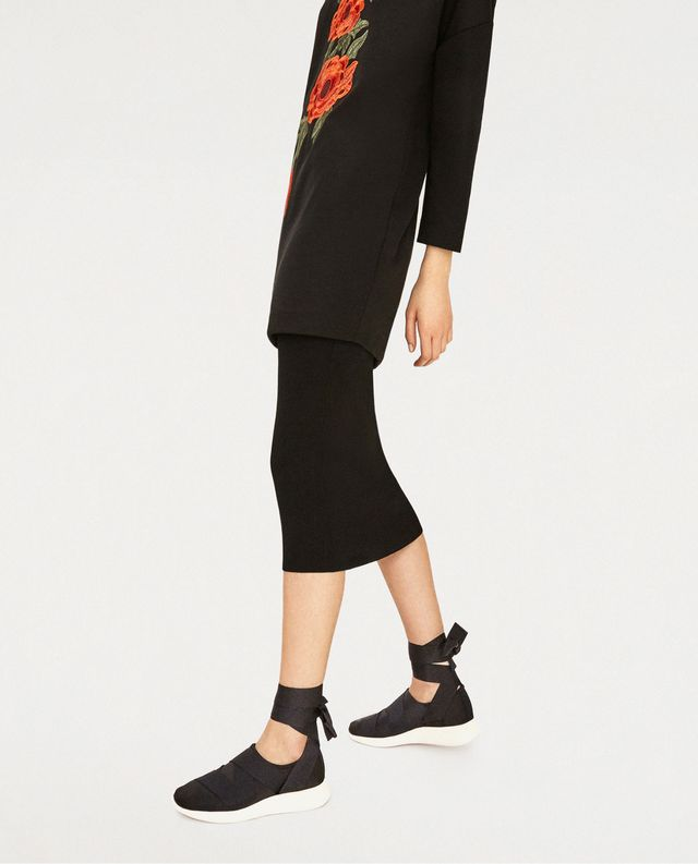 Zara Lace-Up Sneakers