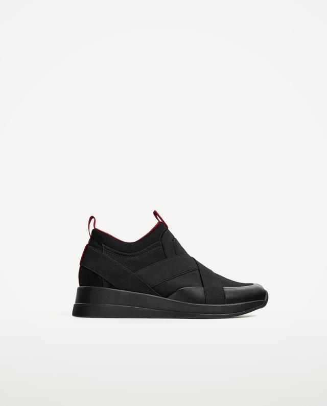 Zara Stretch Sneakers