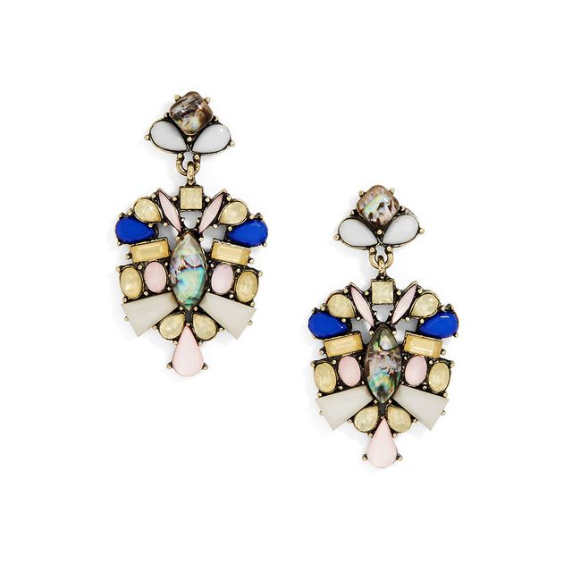 SugarFix by BaubleBar Crystal Bouquet Drop Earrings