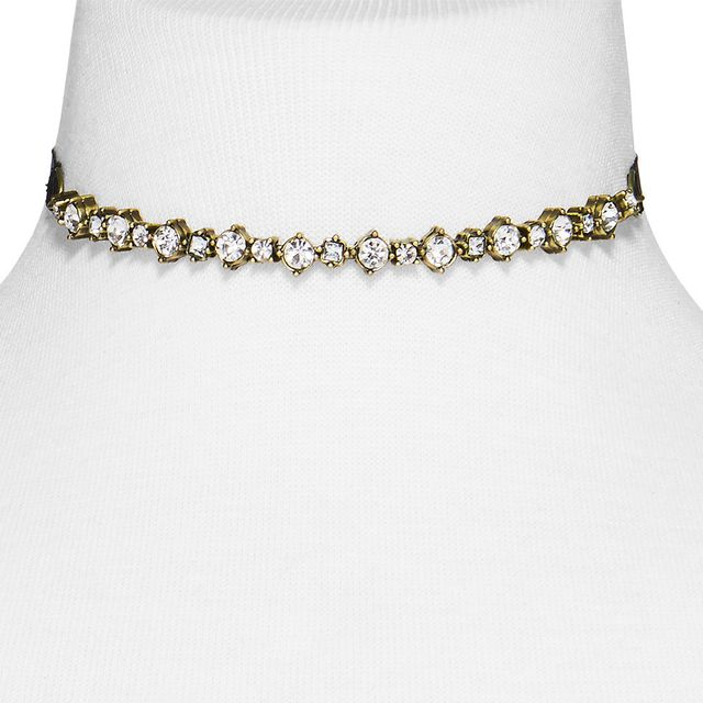 SugarFix by BaubleBar Crystal Strand Choker Necklace