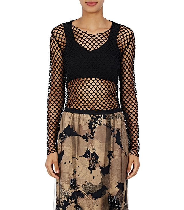 Dries Van Noten Hashim Fishnet T-Shirt