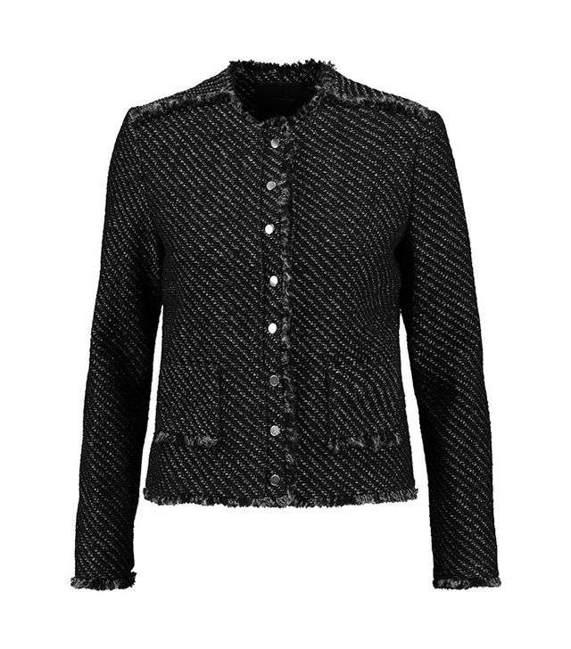 Maje Metallic Tweed Jacket
