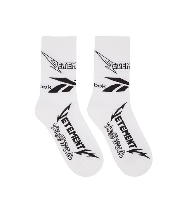 Vetements Reebok Edition Metal Socks