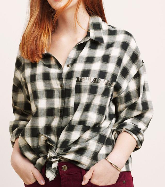 Violeta Check Cotton Shirt