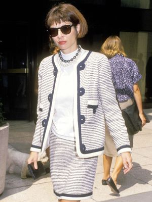 How Anna Wintour Dressed in Her 30s