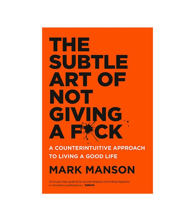 Mark Manson The Subtle Art of Not Giving a F*ck