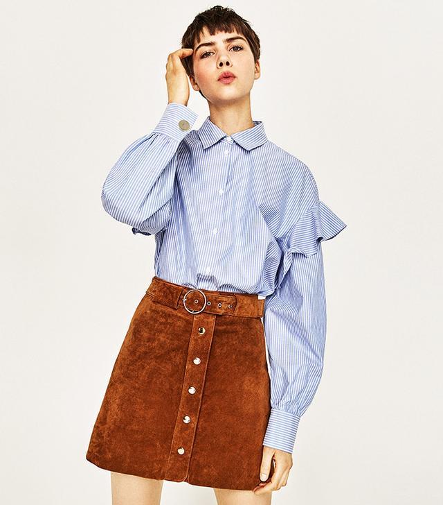 Zara Frilly Shirt