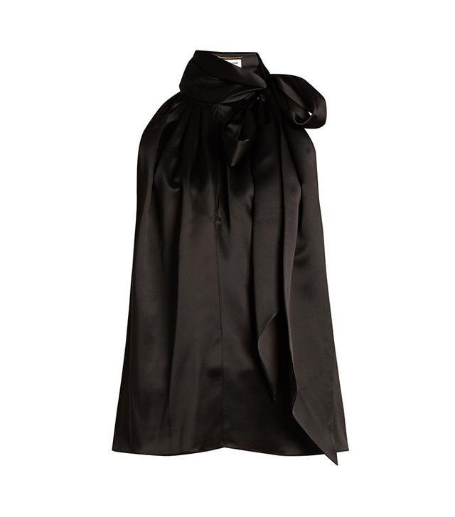 designer silk blouse