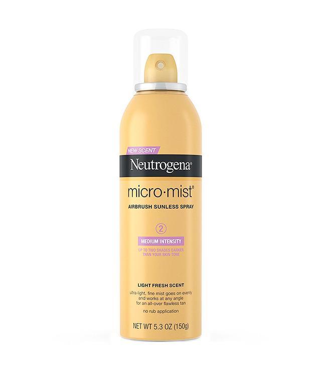 spray self tanner