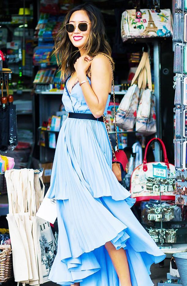 Aimee Song self portrait dress