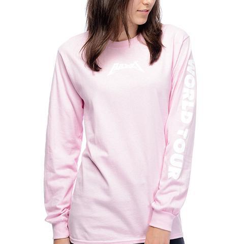 Babes World Tour Pink Long-Sleeve T-Shirt