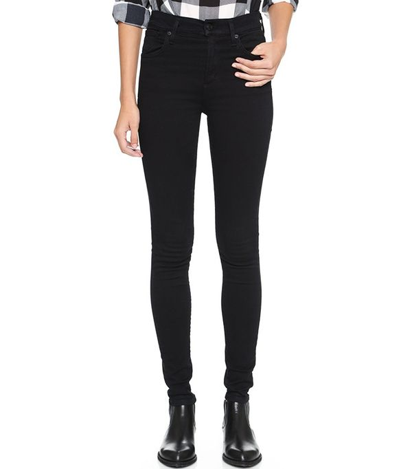 Agolde Sophie High-Rise Skinny Jeans