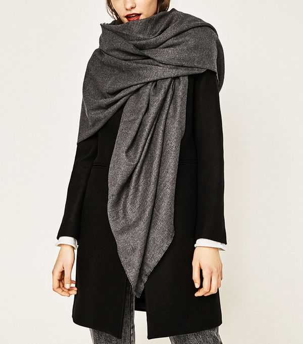 Zara Super-Soft Plain Scarf