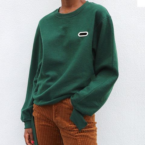 Grommet Sweatcrew in Forest Green