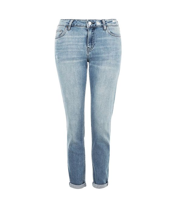 Topshop Moto Winter Bleach Lucas Jeans