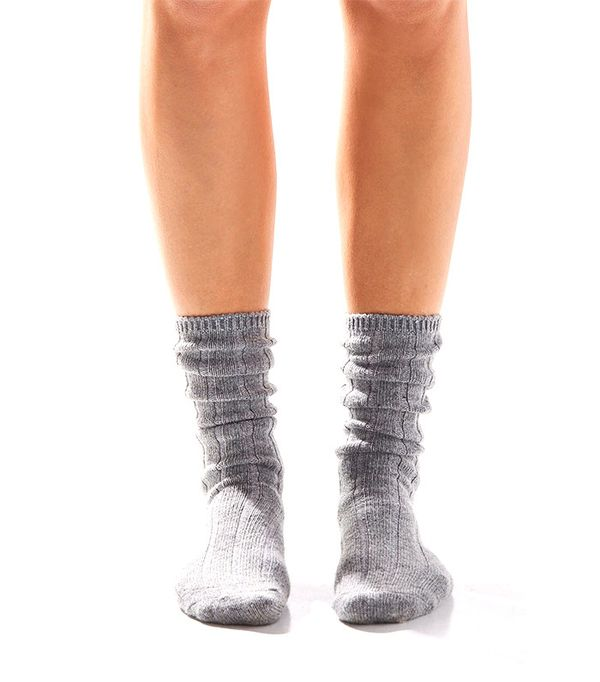 Urban Outfitters Slouchy Ribbed Sock