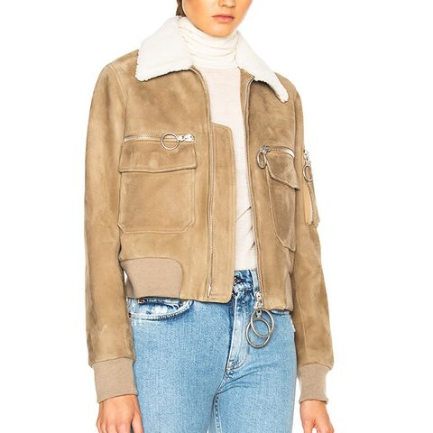 Aviator Bomber Jacket
