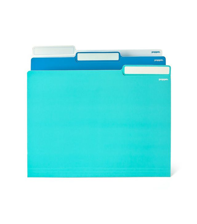 Poppin Letter-Size File Folders