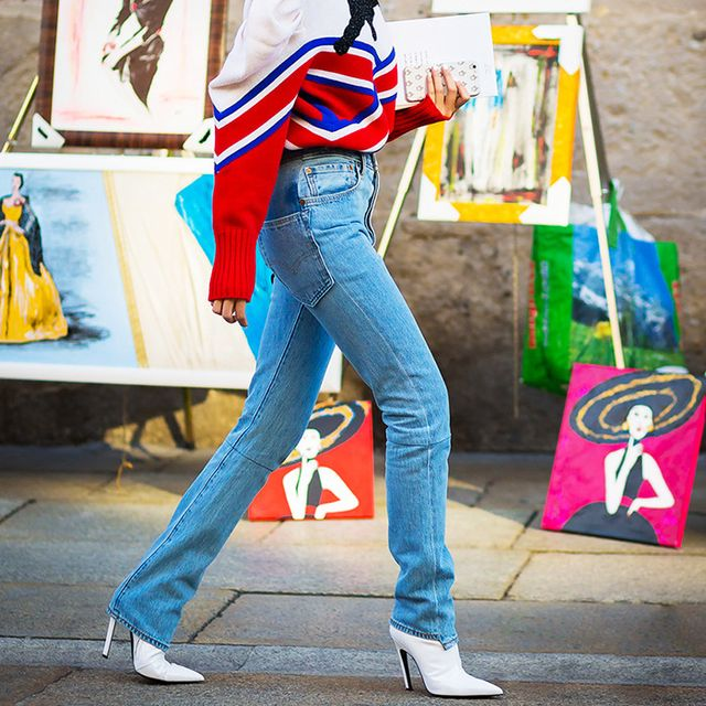 Would You Wear Your Jeans and Ankle Boots Like This?