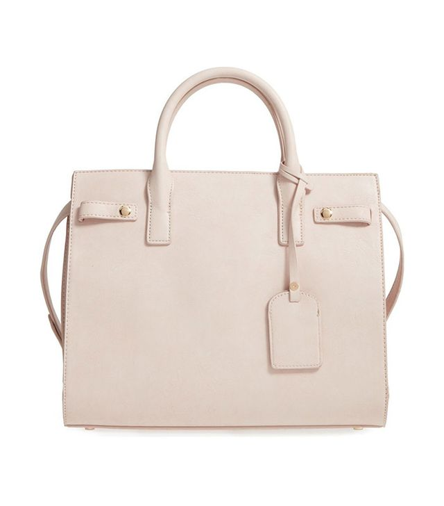 Sole Society Athenia Faux-Leather Satchel
