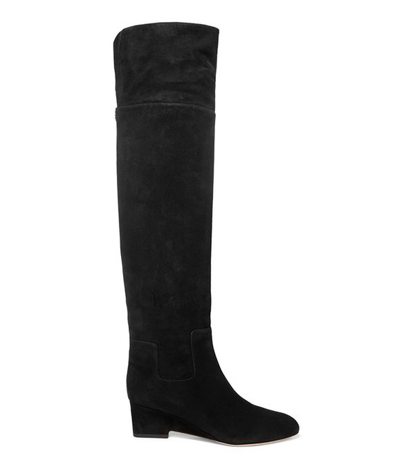 Jimmy Choo Marcie Suede Over-the-Knee boots