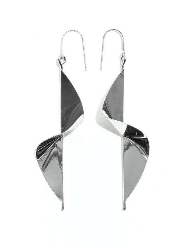& Other Stories Twisted Pendant Earrings