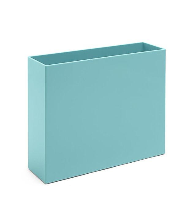 blue file box