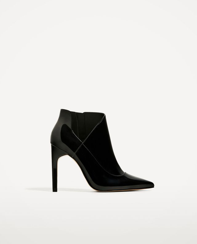 Zara High-Heel Ankle Boots
