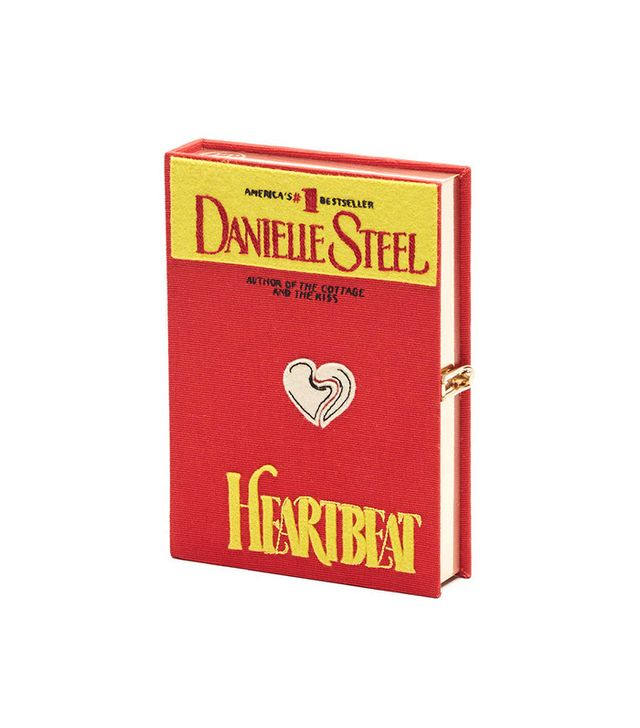 Olympia Le-Tan Heartbeat Book Clutch