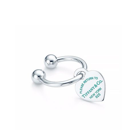 Heart Tag Key Ring