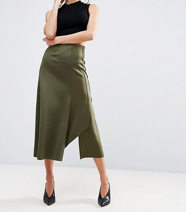ASOS Deconstructed Midi Skirt