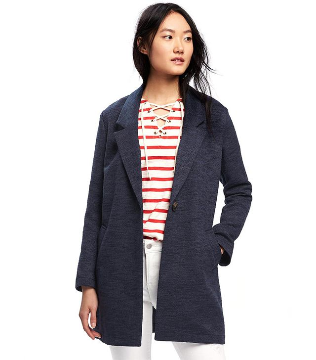 Old Navy Textured-Boucle Everyday Coat