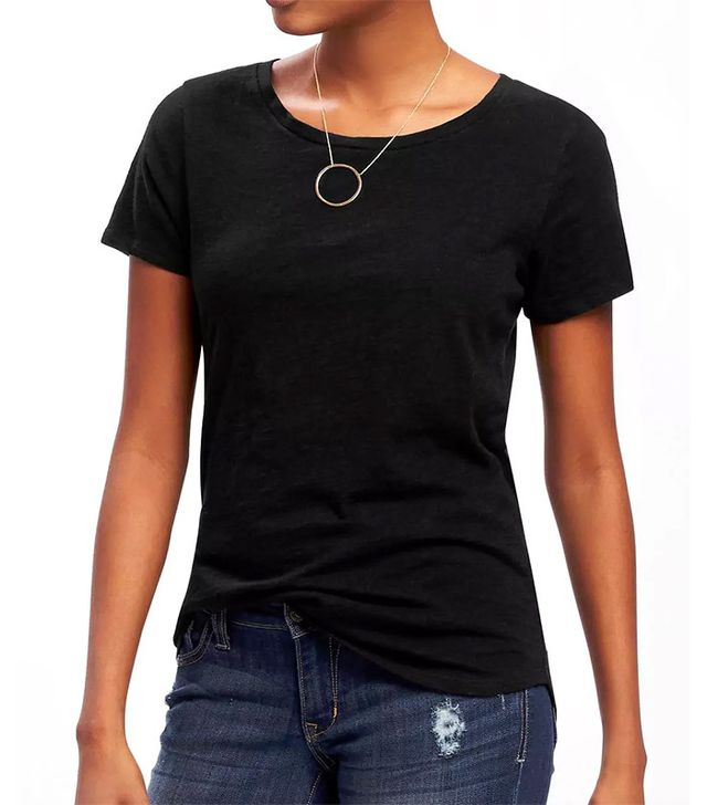 Old Navy Everywear Relaxed Curved-Hem Tee