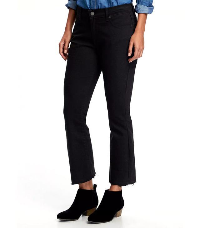 Old Navy Black Flare Jeans