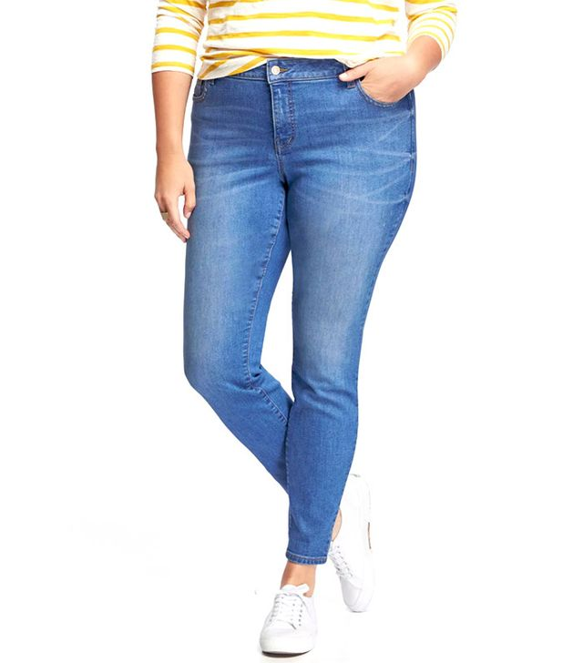 Old Navy Smooth & Slim High-Rise Plus-Size Jeans