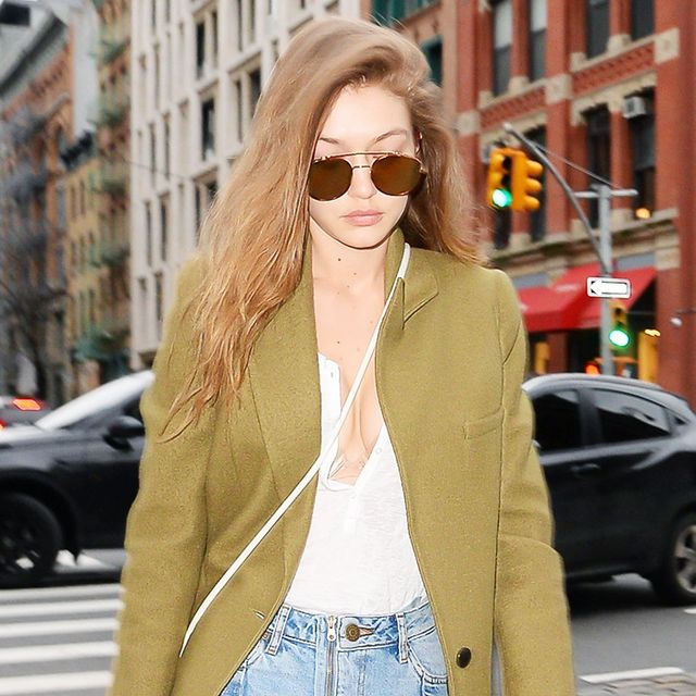 Gigi Hadid Can't Stop Wearing These Jeans