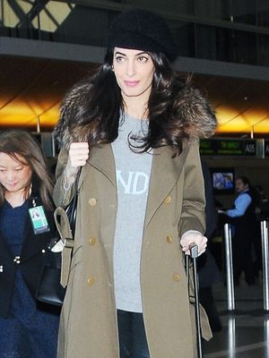 Amal Clooney's Travel Pants Are a Celebrity Favourite