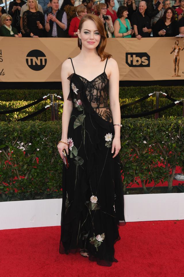 Who: Emma Stone