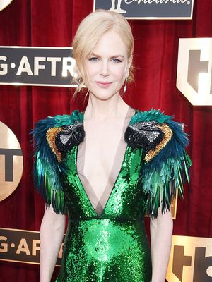 Nicole Kidman's Gucci Dress Is Actual Red Carpet Paradise