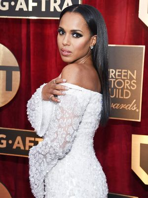 This Is How Kerry Washington Showed Solidarity at the SAG Awards